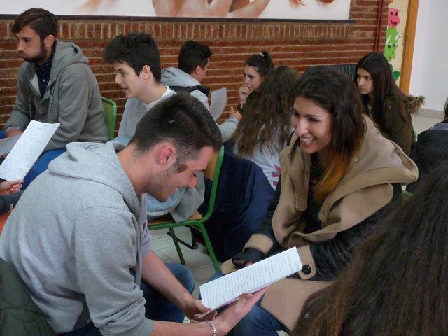 Speed dating en cours d'espagnol